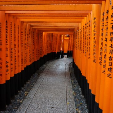 Regen regen en Kyoto