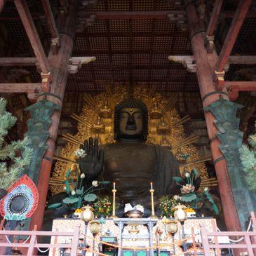 Nara en regen