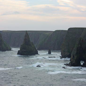 Naar de uiteinde van Schotland John O'Groats,