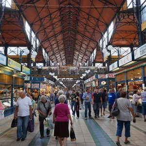 Boedapest Centrale Markthal