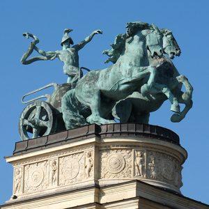 Boedapest Heldenplein