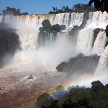 Naar de Iguazu watervallen aan de Argentijnse kant