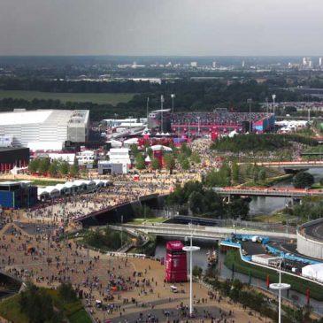 Naar het Olympisch park