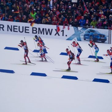 Massa start biathlon