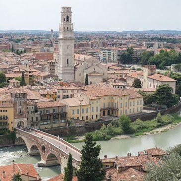 Rondhangen in Verona