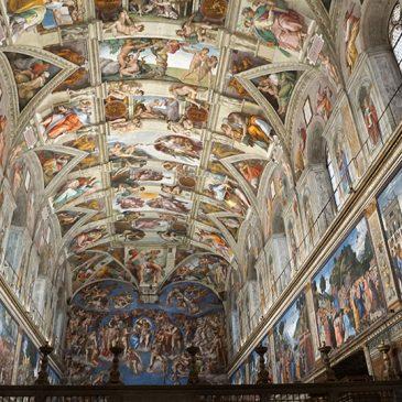 Het Vaticaan en Forum Romanum