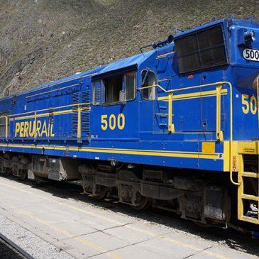 Aguas Calientes laastste stop voor Machu Picchu