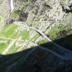 Onderweg naar Geirangerfjord