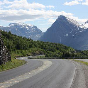 Onderweg naar Tromsø