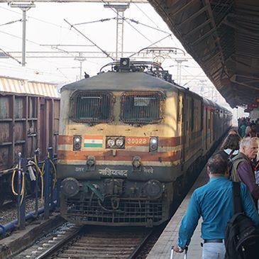 Met trein van Agra naar Orccha