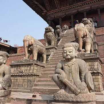 Bhaktapur en Kathmandu (Durbar Square)