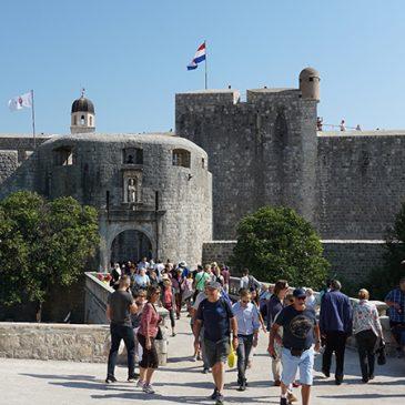Dubrovnik de oude stad verder bezocht