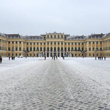 Wenen een slot, reuzenrad en opera