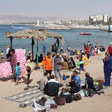 Aqaba, snorkelen en relaxen aan de Rode zee (Jordanië)