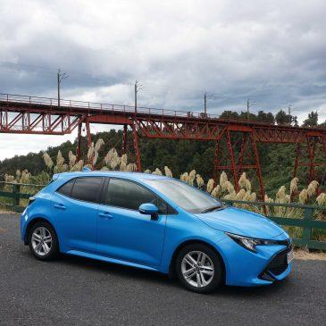 Auto ophalen en rijden naar Tongariro park